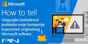 Microsoft banner - How to tell