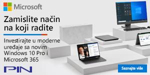 Microsoft banner - Moderan svet računara