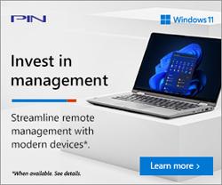 Microsoft banner - Reimagine the way you work