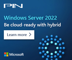 Microsoft banner - Windows Server 2022 - Hybrid